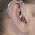 補聴器 耳かけ式パワータイプ装用