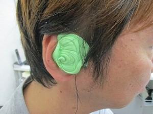 補聴器耳型採取2