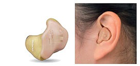 補聴器 カスタムサイズツイン