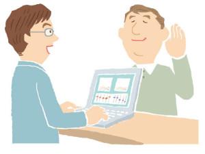 補聴器購入の流れ 試聴