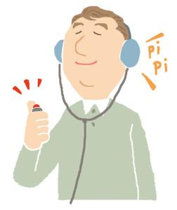 補聴器購入の流れ 聴力測定