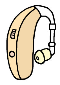 重度難聴 パワー補聴器 耳あな型パワー補聴器