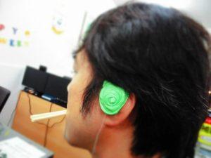耳型採取インプレッション カスタムイヤホンイヤモニター