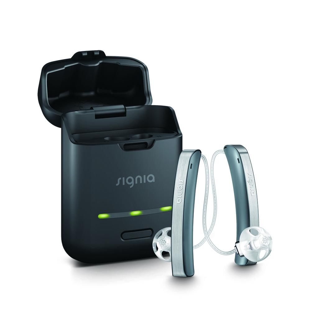 もう補聴器と呼ばないスタイレット 充電式補聴器