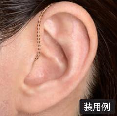 目立たない補聴器 超小型 見えない