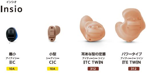 シグニアNx 耳穴式補聴器