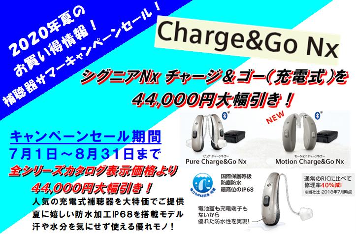 2020年夏の補聴器キャンペーンセール 激安特典