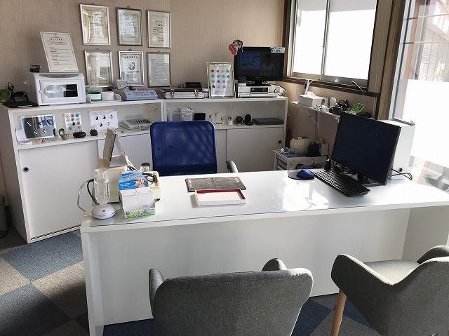 関東補聴器 館山店 店内 補聴器専門店